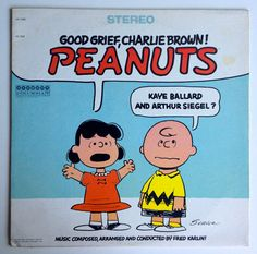 Peanuts, Good Grief, Charlie Brown!  LP Vinyl Record Album, Harmony - HS 11230, Children's, Story