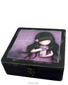 Gorjuss Wooden Trinket Box