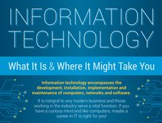 Information Technology [Infographic]