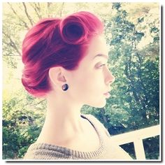 Pin Up hairstyles : quelques inspirations pour le printemps... - Be BaRock