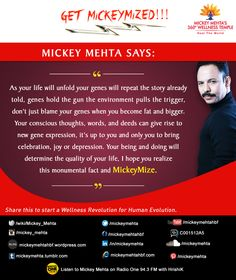 """#GetMickeyMized: """"Your being and doing will determine the quality of your life, I hope you realize this monumental fact and #MickeyMize."""" Share this to start a #Wellness Revolution for #Human Evolution"""