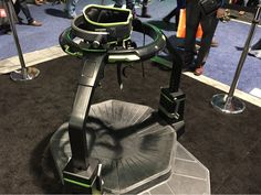 How Do You Move In Virtual Reality? With A Treadmill Like This One I Just Tried