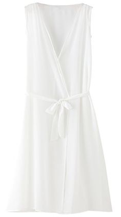zeraca Womens Summer Long Beach Dress Cover Up S6 White -- You can find out more details at the link of the image.