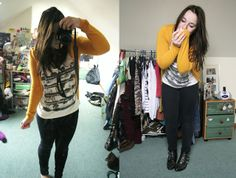 and it was all yellow - ❤what would emma do?❤ #vintage #clothing #yellow #black #white #fbloggers #fashion #fashionblog