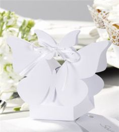 White Butterfly Boxes