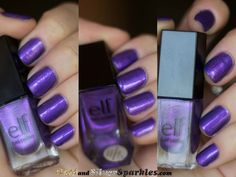 e.l.f. Metal Madness #Nails #BLOGGERS #BBloggers Cruelty Free, My Nails, Madness, Swatch, Nail Designs, Nail Polish, Articles, Metal, Makeup