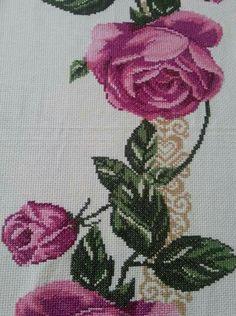 Cross Stitch Rose, Cross Stitch Patterns, Diy And Crafts, Frame, Crochet, Cross Stitch Flowers, Daisies, Cross Stitch Embroidery, Crafts