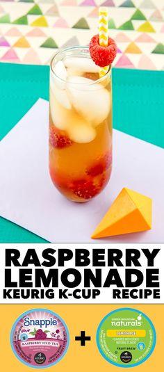 Raspberry Lemonade Keurig K-Cup Recipe #LiveLoveBrew