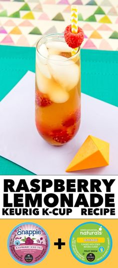 Raspberry Lemonade Keurig K-Cup Recipe #LiveLoveBrew