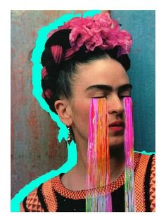 Frida Tears  The Real Art of Street Art
