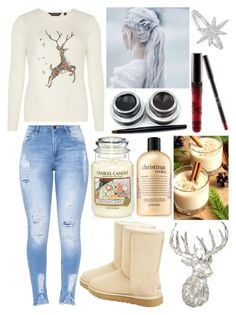 """""""I want it to be Christmas soon"""" by musicmelody1 on Polyvore featuring Dorothy Perkins, UGG, Parlane, Yankee Candle, philosophy, Kylie Cosmetics and Anne Sisteron"""