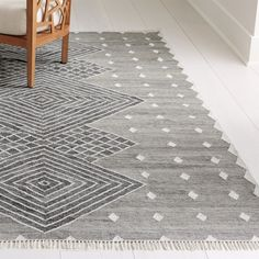outdoor rugs You'd never know that this gorgeous rug has its origins in recycled plastic bottles. Soft underfoot and deftly woven, the handcrafted rug imitates the look of a fine wool flo Modern Outdoor Rugs, Indoor Outdoor Carpet, Modern Rugs, Modern Carpet, Midcentury Modern, Crate And Barrel, Galloway, Farmhouse Area Rugs, Modern Farmhouse