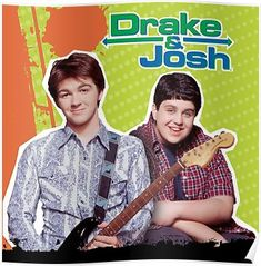 A description of tropes appearing in Drake & Josh. Over-the-top Nickelodeon sitcom created by Dan Schneider about two Odd Couple stepbrothers. Drake And Josh, Nick Drake, Drake Bell, Old Tv Shows, Kids Shows, Best Tv Shows, Favorite Tv Shows, Disney Channel, Disney Films