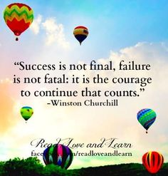 Courage quote via www.Facebook.com/ReadLoveAndLearn