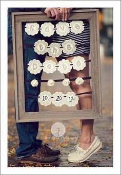 This my be my favorite save the date picture...