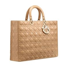 Dior HANDBAGS | Dior Large Miss Dior shopping bag in beige patent leather 1 580x571