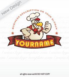 chicken Rooster logo design #9346 logos for sale | Logo Templates ...