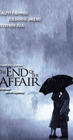 Directed by Neil Jordan.  With Ralph Fiennes, Julianne Moore, Stephen Rea, Heather-Jay Jones. On a rainy London night in 1946, novelist Maurice Bendrix has a chance meeting with Henry Miles, husband of his ex-mistress Sarah, who abruptly ended their affair two years before. Bendrix's obsession with Sarah is rekindled; he succumbs to his own jealousy and arranges to have her followed.