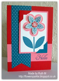Flower Sparkle: Another Colour Combo Card