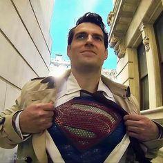 My superman 😍💕 Superman Artwork, Superhero Superman, Superman Henry Cavill, Superman Cosplay, The Wicked The Divine, Hq Dc, Univers Dc, Superman Man Of Steel, Lex Luthor