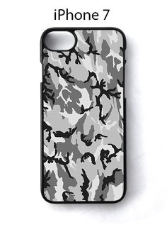 Camouflage Snow Camo iPhone 7 Case Cover