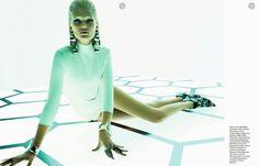 Numéro Magazine #159 | Toni Garrn por Greg Kadel [Editorial]