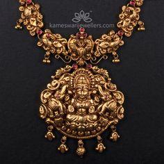 Jewelry Design Earrings, Gold Jewelry, Gold Necklace, Bridal Necklace, Necklace Designs, Pendant Jewelry, Antique Necklace, Bridal Jewellery, Diamond Jewellery