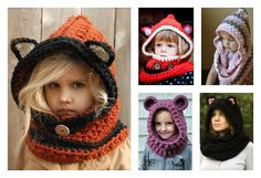 The colder weather is coming. Here are some great Crochet Hooded Scarves and Cowls Patterns for you to make some cowls or scarves to keep warm.