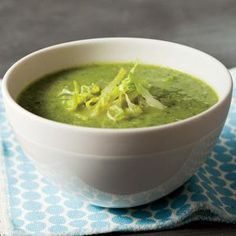 Lettuce Soup..my mother makes this, and loves it.....love Marybeth xx