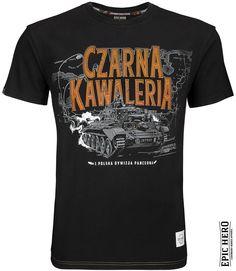 Koszulka Czarna Kawaleria | Koszulki