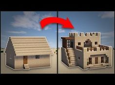Minecraft: How To Remodel A Desert Village Large House - (More info on: http://LIFEWAYSVILLAGE.COM/how-to/minecraft-how-to-remodel-a-desert-village-large-house/)