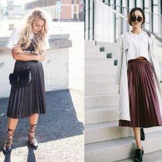 La jupe plissée   tenues modestes qui ne sont pas démodées