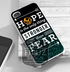 89a0d8cb6a hunger games hope quotes iPhone 4 4s 5 5c 5s Case by FipuzDesign