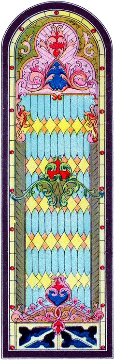 Stained Glass Church Window Image! - The Graphics Fairy