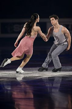 Tessa Virtue&Scott Moir, Canada this was an awesome skate to the song 'Stay' By Rihanna