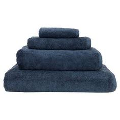 """Create a spa-like retreat in your master bath with this sumptuous Turkish cotton towel set.  Product: Bath sheet Bath towel Hand towel WashclothConstruction Material: 100% Turkish cottonColor: Midnight blueFeatures:  Made in TurkeyNatural dobby weave border Dimensions: Bath Sheet: 40"""" x 70"""" Bath Towel: 27"""" x 54"""" Hand Towel: 16"""" x 30"""" Washcloth: 13"""" x 13""""Cleaning and Care: Machine wash"""
