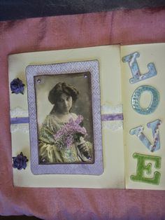 ) My Latest Card :) Vintage Love Vintage Love, I Card