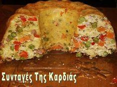Η σημερινή συνταγή είναι από την φίλη μου την Αγγελικούλα , που μένει στην Ελβετία και μου λείπει πολύ!!!! Ένα πιάτο τόσο εντυπωσιακό, όσο κ... Greek Recipes, Rice Recipes, Pasta Recipes, Appetizer Recipes, Cooking Recipes, Healthy Recipes, Greek Cooking, Christmas Cooking, Savoury Cake