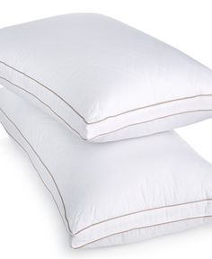 martha stewart collection allergy wise gusseted down alternative pillows pillows bed u0026 bath