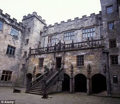 Chillingham Castle is a medieval castle in the village of Chillingham in the northern part of Northumberland, England. It was the seat of the Grey family and their descendants the Earls of Tankerville from the 13th century until the 1980s