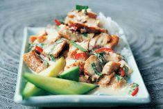 Kijk wat een lekker recept ik heb gevonden op Allerhande! Groene curry van makreel