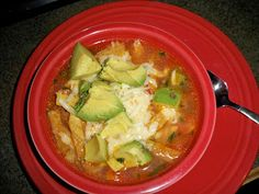 One of my favorite soups is from a restaurant called Houston's. They have a soup there that is similar to this Mexico City Style Chicken an...