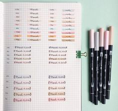*exhales* | 25 Satisfying Bullet Journal Layouts That'll Soothe Your Soul