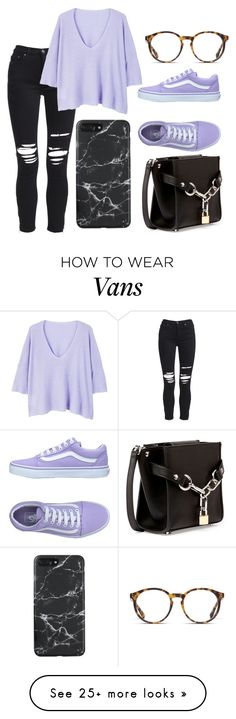 """Sem título #1810"" by natalierlu on Polyvore featuring AMIRI, MANGO, Vans, O'Neill and Alexander Wang"