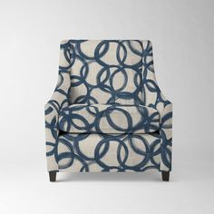 Another option for the window chairs: Sweep Armchair - Prints | West Elm