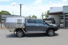 Toyota Hilux Aluminium Canopy - Norweld Aluminium Ute Trays and Aluminium Canopies Toyota Vehicles, Toyota Cars, Toyota Hilux, Ute Canopy, Ute Trays, Dog Cages, Canopies, Offroad, Camping