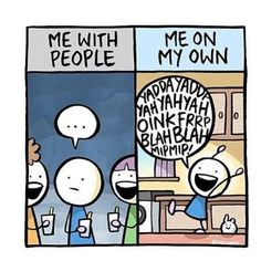 If you are an introvert and want some good laugh then here are relatable introvert memes that will speak your mind for you! Introvert Quotes, Introvert Problems, Infj Infp, Isfj, Introvert Funny, Infj Traits, Mbti, Rage Comic, Infp Personality