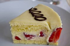 Fraisier - Creamy strawberry cake - Road to Pastry