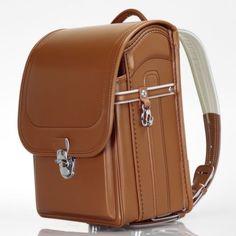 NEW-Japanese-Randoseru-Backpack-School-Bag-Camel-casual-3033-C