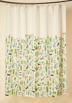 Critters Meet Cultivation Shower Curtain, @ModCloth